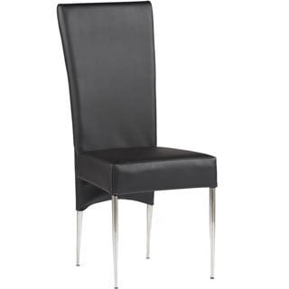Somette Bella Black Side Chair (Set of 2)