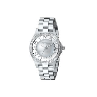 Marc Jacobs Women's MBM3337 Henry Glitz Silvertone Watch