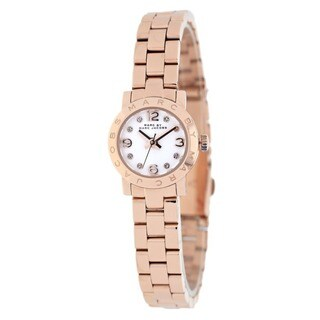 Marc Jacobs Women's MBM3227White Rose Goldtone Stainless Steel Watch