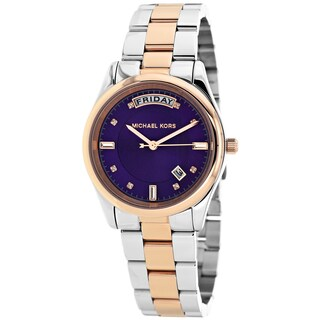 Michael Kors Women's MK6072 Colette Round Two-tone Bracelet Watch