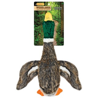 Woodlands Large Plush Mallard Dog Toy-