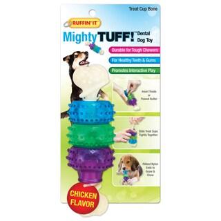 Mighty Tuff Treat Cup Bone Dog Toy-