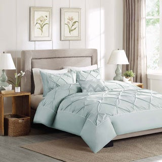 Madison Park Julia 4-Piece Cotton Duvet Cover Set