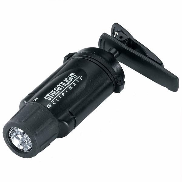 Clipmate Flashlights White Led Black