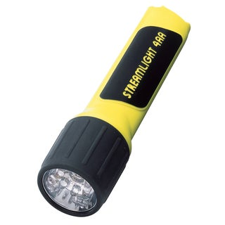 4Aa Led Flashlight without Batteries Yellow (Boxed)