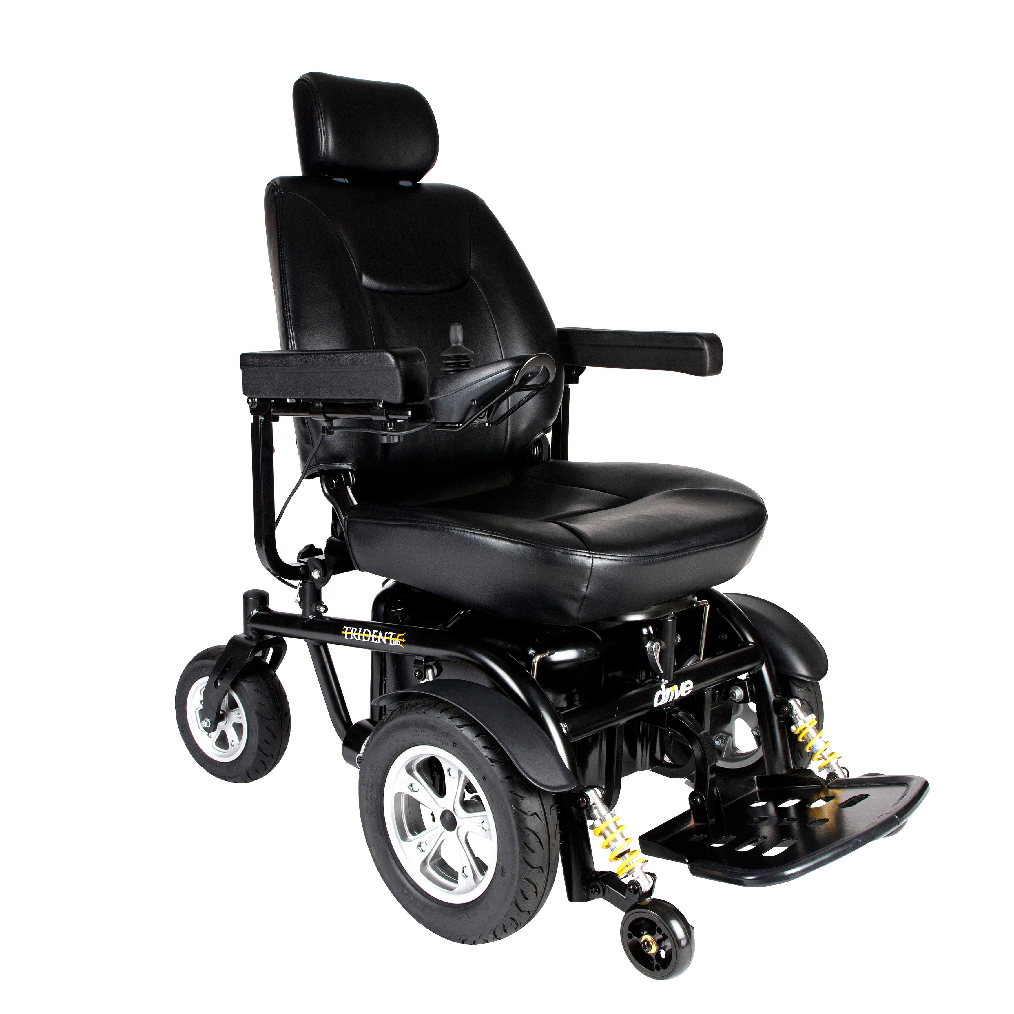 Drive Medical Trident HD Heavy-duty Power Chair - Black (...