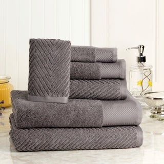 Elegance Spa Cotton Jacquard 6-piece Towel Set