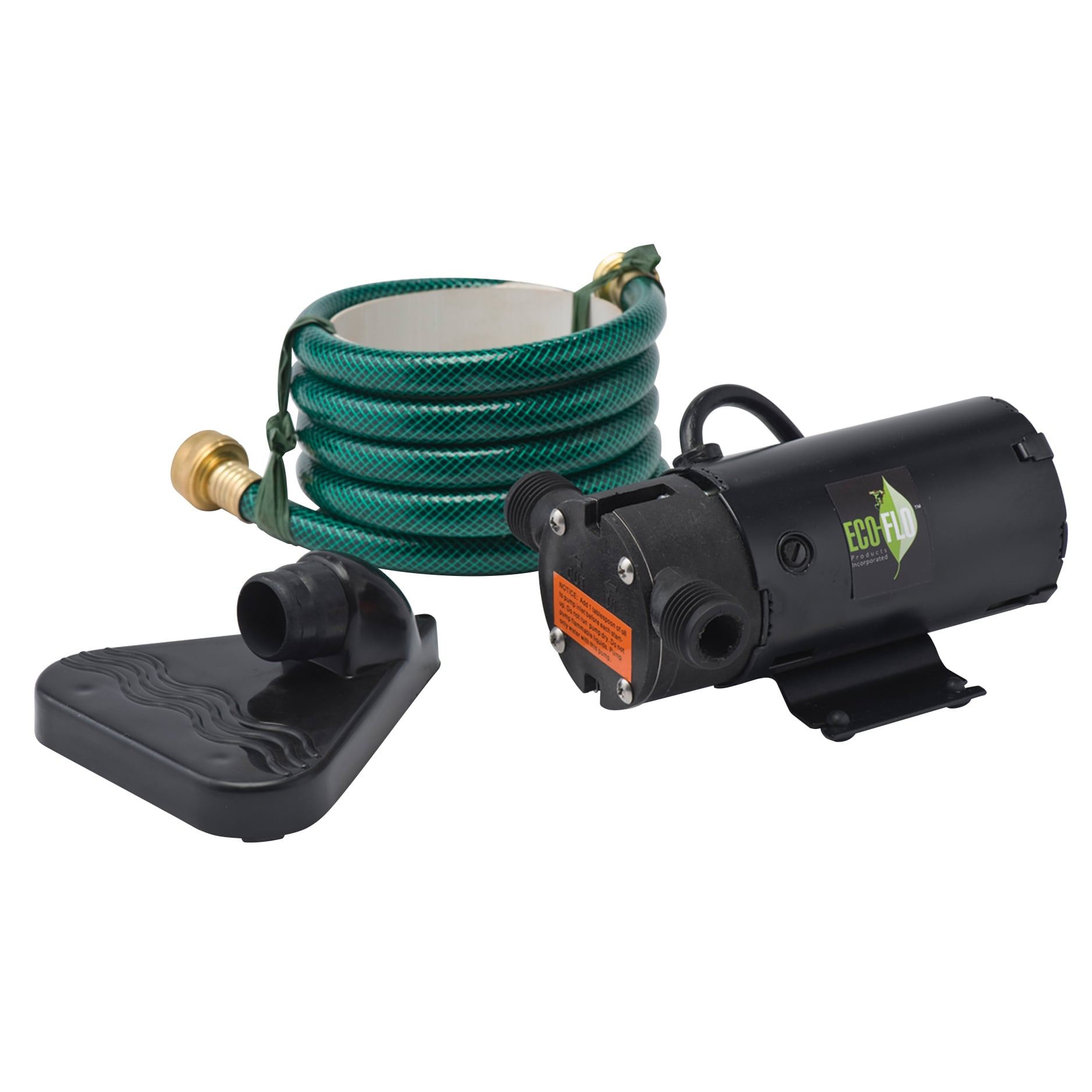 ECO-FLO PUP62 Thermoplastic Drill Pump Kit (Fits 1/2 or 1...