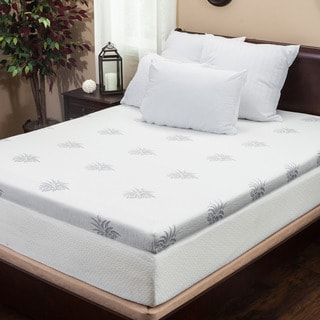 Christopher Knight Home 4-inch Dual-layer Full-size Gel Memory Foam Mattress Topper