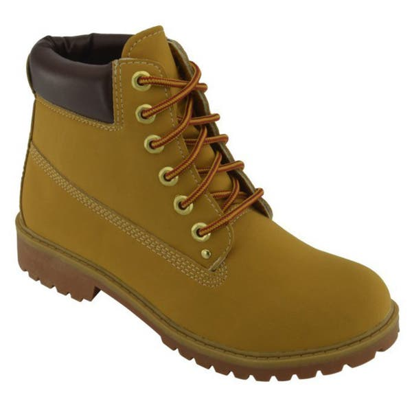 7fe6b1a41f9 Shop Women's Lace-Up Rugged Boots - Free Shipping On Orders Over $45 ...