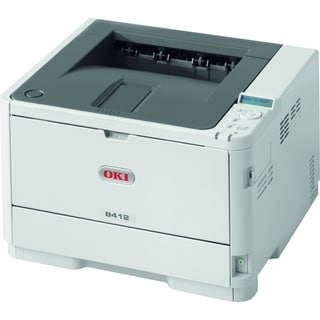 Oki B412dn LED Printer - Monochrome - 1200 x 1200 dpi Print - Plain P