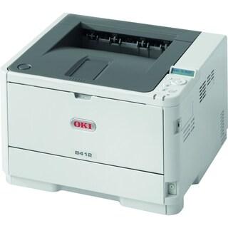 Oki B412dn LED Printer - Monochrome - 1200 x 1200 dpi Print - Plain P