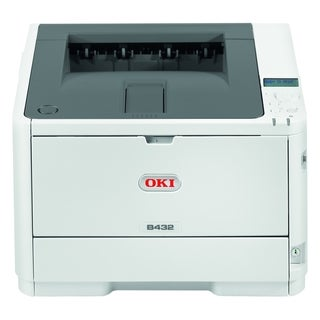 Oki B432dn LED Printer - Monochrome - 1200 x 1200 dpi Print - Plain P