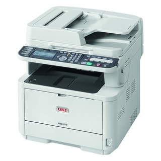 Oki MB472w LED Multifunction Printer - Monochrome - Plain Paper Print