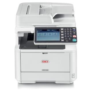 Oki MB492 LED Multifunction Printer - Monochrome - Plain Paper Print