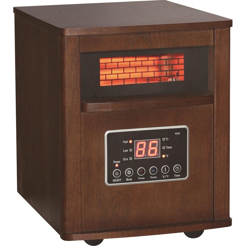 World Marketing DuraHeat InfraRed Quartz Heater, Pink