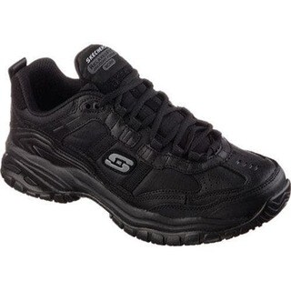 Men's Skechers Work Relaxed Fit Soft Stride Mavin Black