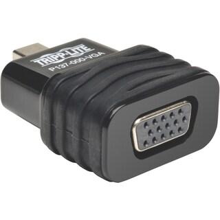 Tripp Lite Mini DisplayPort to VGA Adapter Active Converter Compact D