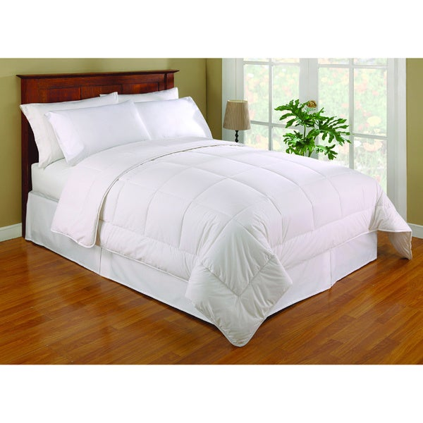 Dust Buster Allergy Relief Breathable Down Alternative Comforter