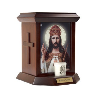 Official Vatican Foundation Christ The King Urn
