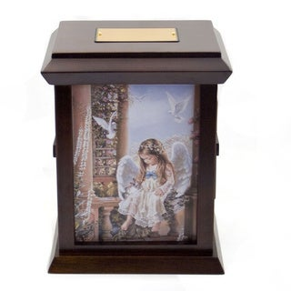 Sandra Kuck's Little Angels Wood Urn