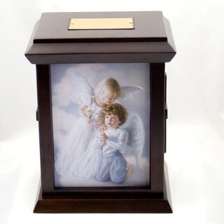 Sandra Kuck's Heavenly Prayer Wood Urn