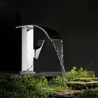 Kokols Chrome Cascade Waterfall Vessel Sink Faucet