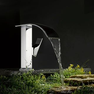 Kokols Chrome Cascade Waterfall Vessel Sink Faucet