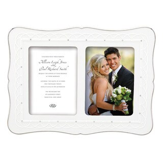 Lenox Bliss Double Invitation Frame