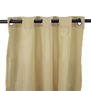Jordan Manufacturing Indoor/ Outdoor Solid 84-inch Curtain Panel - 54 x 84