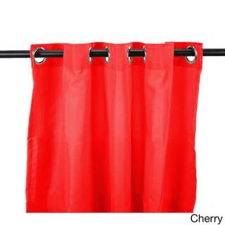 Jordan Manufacturing Indoor/ Outdoor Solid 84-inch Curtain Panel