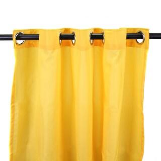 Jordan Manufacturing Indoor/ Outdoor Solid 84-inch Curtain Panel - 54 x 84