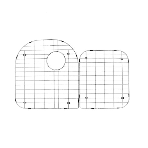 Stainless Steel Grid Under-mount Sink Protector Set