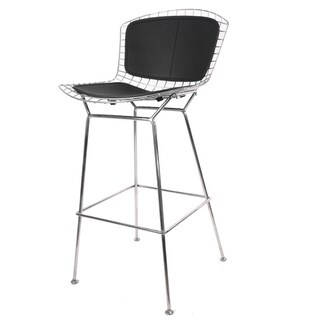 Hans Andersen Home Betty Stainless Steel Barstool