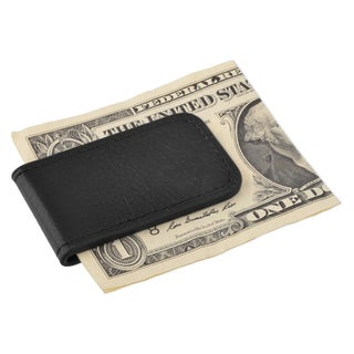 Zodaca Plain Black/ Brown Genuine 100-percent Leather Magnetic Slim Wallet Pocket Money Clip Holder (2 options available)