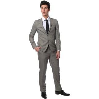 Zonettie by Ferrecci Men's Slim Fit Glen Plaid Check Suit (More options available)