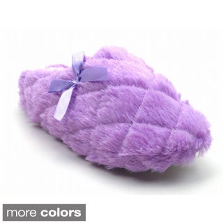 Blue Women's 'Momo Lance' Faux Fur Slippers