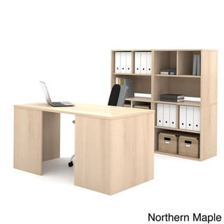 i3 by Bestar Executive Desk and Storage Kit