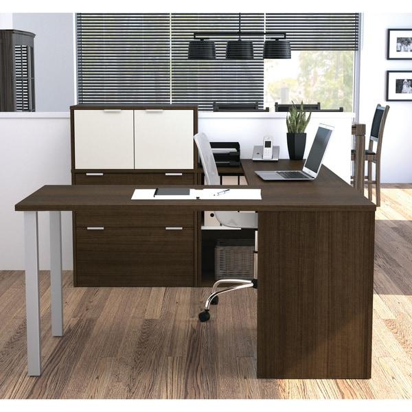 i3 U-Shaped Storage Desk - Free Shipping Today - Overstock.com