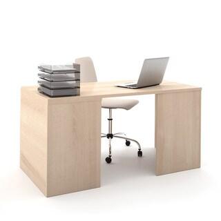 i3 by Bestar Hidden Storage Workstation Desk