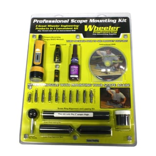 Wheeler 1-inch Scope Mounting Kit