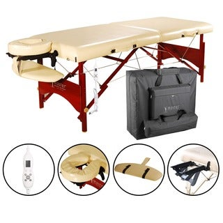 Master Massage Heated Top 28-inch Caribbean Massage Table