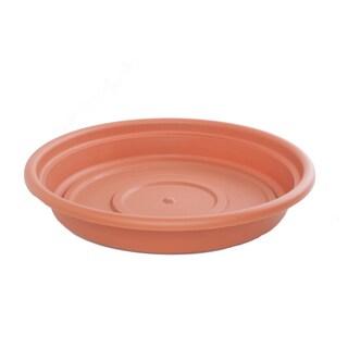 Bloem Dura Cotta Terra Cotta Saucer (Option: 6 inch is 5.87in in diameter x 1.12in high)