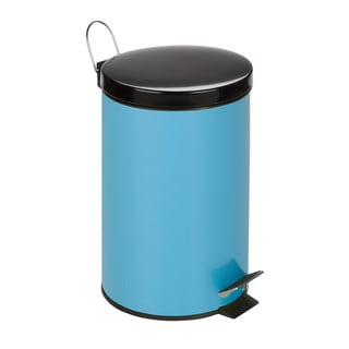 12-Liter Round Step Can, Blue