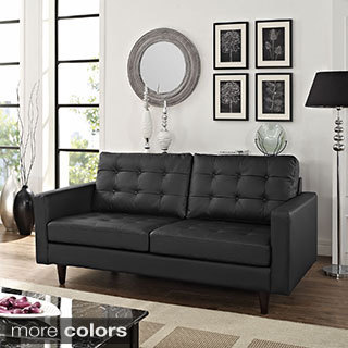 Empress Leather Loveseat