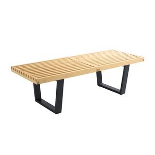 Hans Andersen Home Kolding Wooden Slat Bench