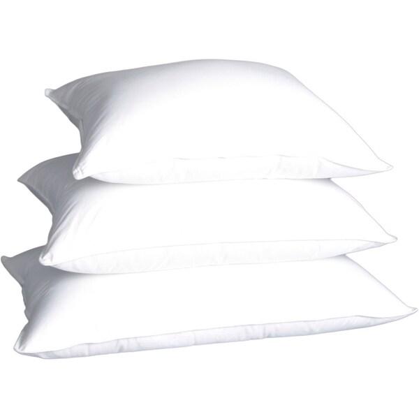 Capri White Polish Down Soft Density Pillow