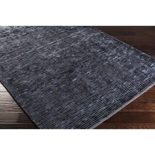 Hand-woven Bowmont Solid Indoor Area Rug