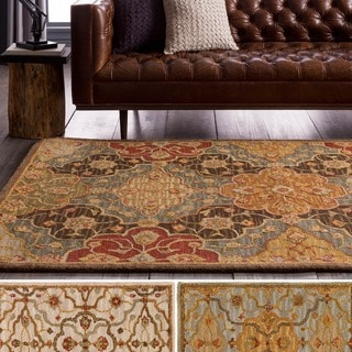 Hand-Tufted Mauldin Transitional Wool Rug (8' x 10')