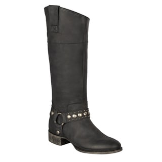 Lane Boots Women's 'Westminster' Black Riding Boot